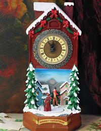 BAVARIAN MUSICAL CLOCK