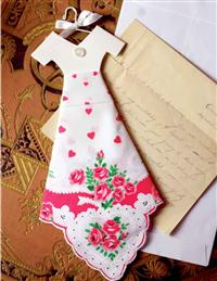 VALENTINE HANKIE DRESS