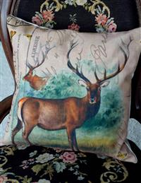 Buck Pillow Cover