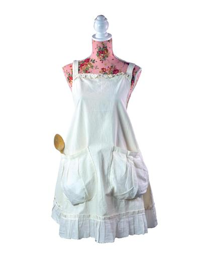 Vintage Aprons, Retro Aprons, Old Fashioned Aprons & Patterns Provencal Pinafore Apron $29.95 AT vintagedancer.com