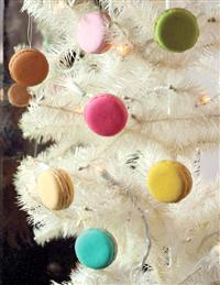 MACAROON ORNAMENTS (SET OF 8)