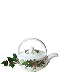 HOLLY & IVY TEAPOT