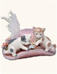 MISS MOPPET & MITTENS MUSIC BOX