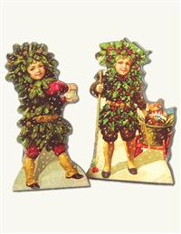 HOLLY JOLLY EASEL BOARDS (PAIR)