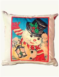 MR SNOWMAN PILLOW