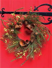 RUSTIC BELL WREATH