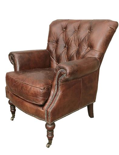Rochester Antique Leather Chair