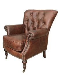 Awesome Rochester Antique Leather Chair