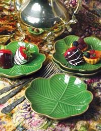 LUCKY CLOVER LEAF DISHES (SET OF 4)