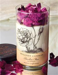 BOURBON ROSE HEIRLOOM BLOOM CANDLE