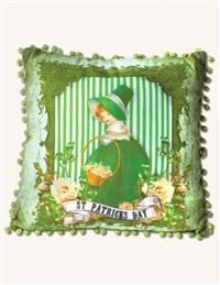 ST. PATRICK'S DAY LASS PILLOW