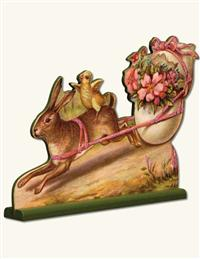 VINTAGE RABBIT STAND UP