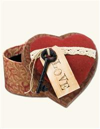 KEY TO YOUR HEART BOX
