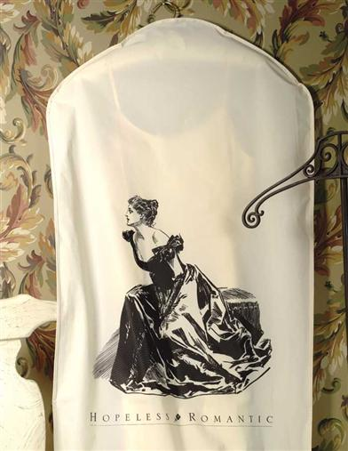 HOPELESS ROMANTIC GARMENT BAGS (SET OF 3)