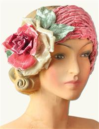 LOUISE GREEN STE. HONORE HEADBAND