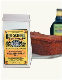 OLD SCHOOL BAKING MIX WHOLE WHEAT MOLASSES BREAD