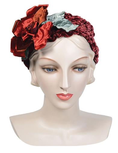 Louise Green Ruddy Rose Headband