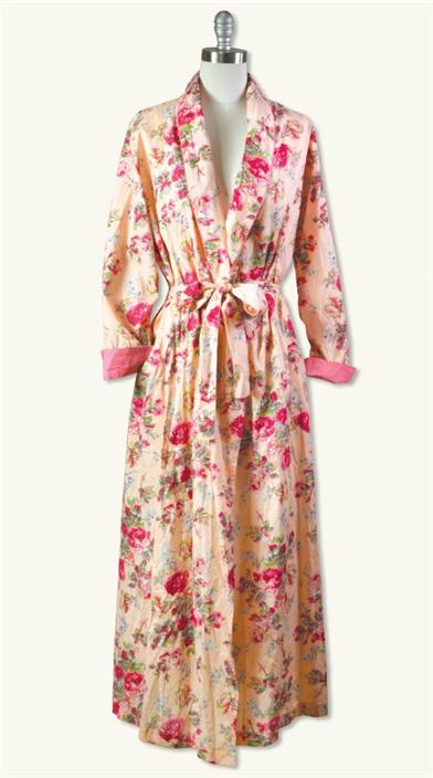 Vintage Inspired Nightgowns, Robes, Pajamas, Baby Dolls April Cornell Reverie Dressing Robe $99.95 AT vintagedancer.com