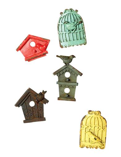 Birdhouse Magnets