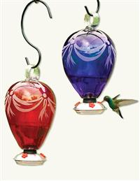 Hot Air Balloon Hummingbird Feeder