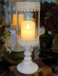 Lace Pedestal Luminary