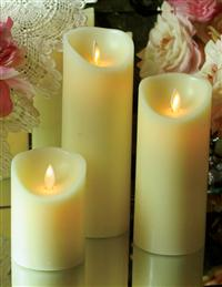 Waxing Poetic Flicker Flame Candle (Small)