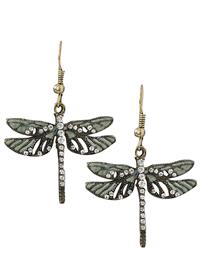 Flight Of The Dragonfly Earrings