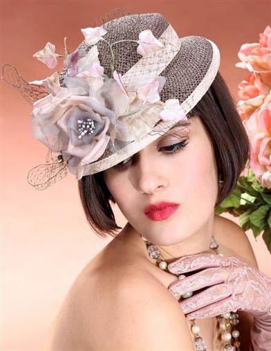 Women's Vintage Hats | Old Fashioned Hats | Retro Hats Louise Green My Little Pigeon Doll Hat $279.95 AT vintagedancer.com