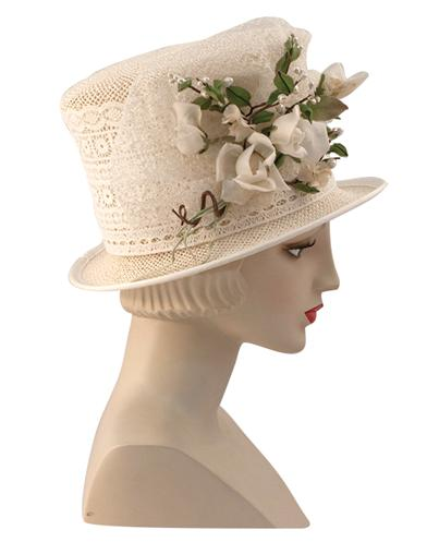 Steampunk Hats | Top Hats | Bowler Louise Green TalulahS Top Hat $279.95 AT vintagedancer.com