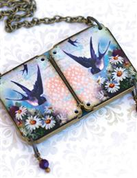 Birds & Bouquets Peek-a-boo Necklace