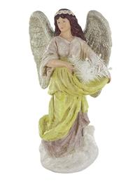 Baroque Angel Figurine