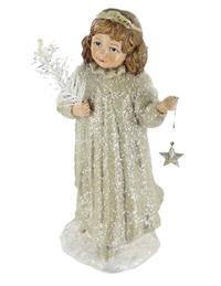 Pageant Angel Glitter Figurine