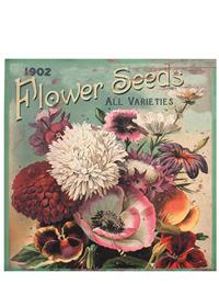 19Th C. Botanical Wall Hangings