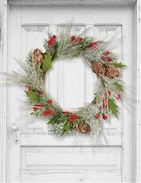 Winterberry Evergreen Wreath