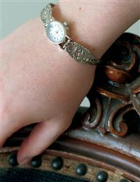 Victorian Spoon Bracelet Watch