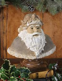 Holly Santa Bust