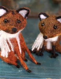 Russel And Rowena Felt Fox Couple