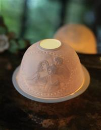 Three Graces Lithophane Luminary