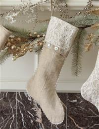 Lovely Lace Stocking (Buttons)