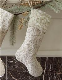 Lovely Lace Stocking (Ruffles)