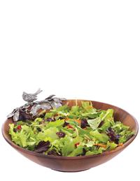 Chickadee Salad Serving Bowl