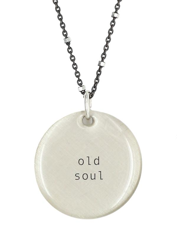 Old Soul Owl Necklace