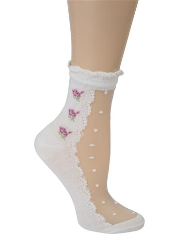 Swiss Dot Socks