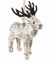 Lacy Reindeer Ornament