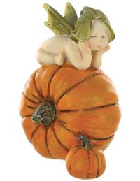 Sleeping Sprites Pumpkin Fairy