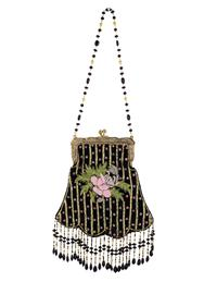 Briar Rose Beaded Purse