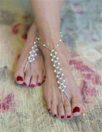 Pearline Barefoot Sandals