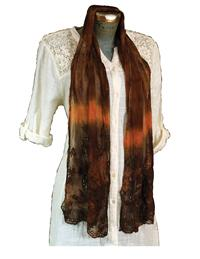 Autumn Sunset Scarf