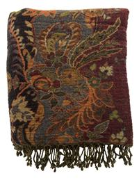 Jasmine Dream Tapestry Throw