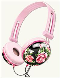 Hawthorne Rose Headphones Black